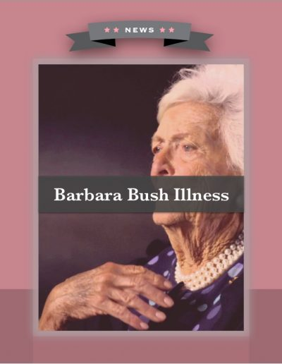 Barbara Bush Illness