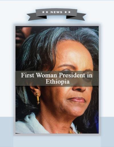 Ethiopia's  New President